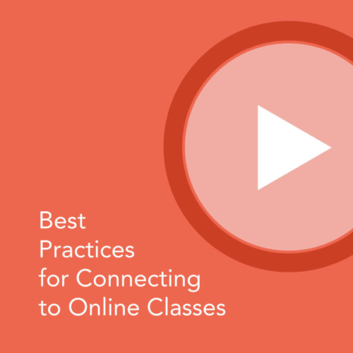 connecting to online classes
