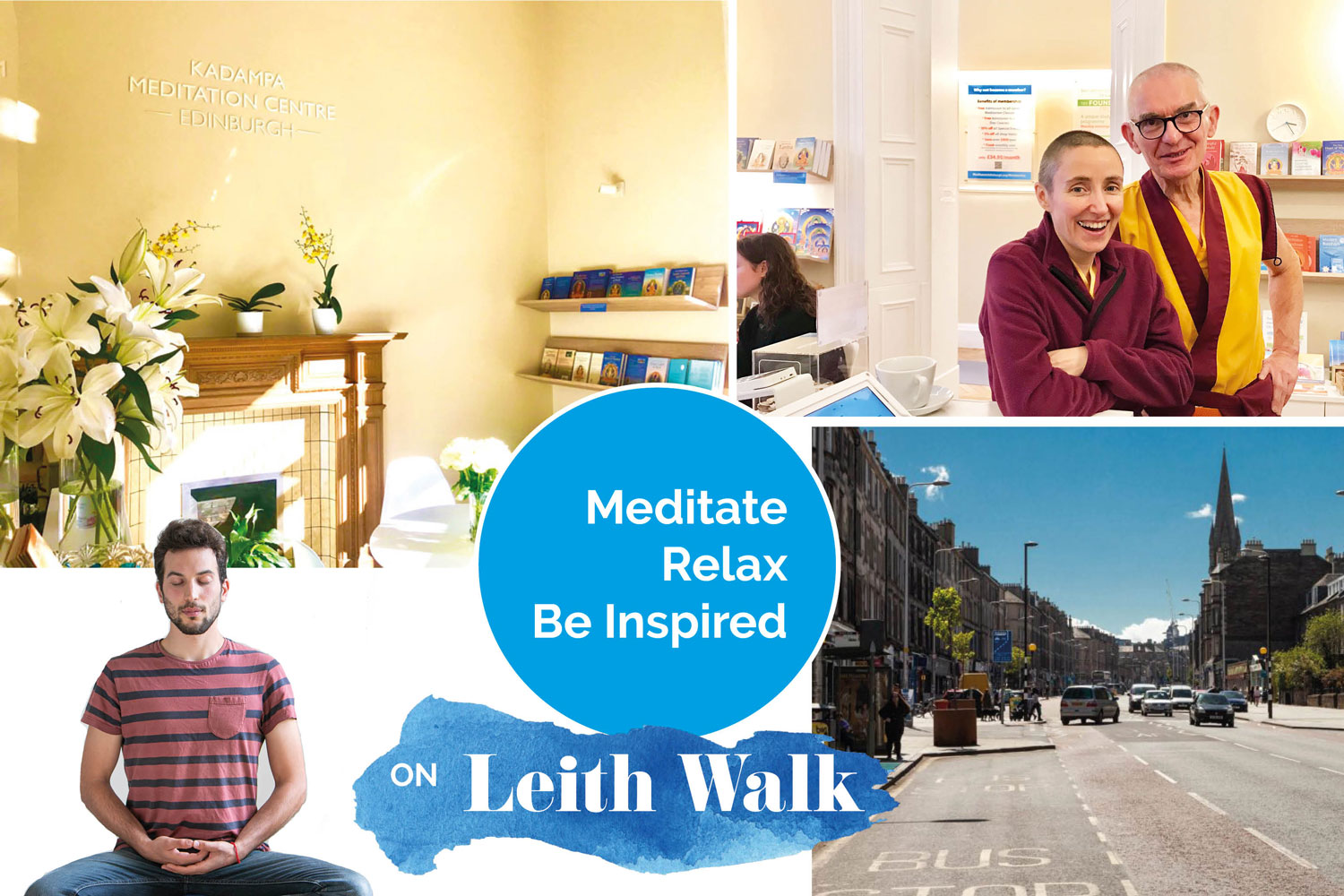 meditation centre on Leith Walk